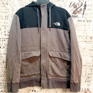 The North Face Sweatshirt Jacket As Is Condition